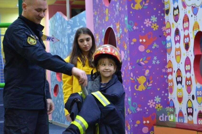Как дети помогли потушить «пожар»
