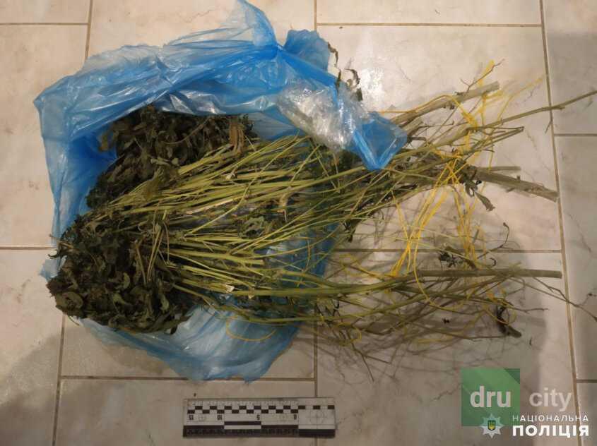 Полицейские изъяли у жителя Дружковки пулемет и наркотики
