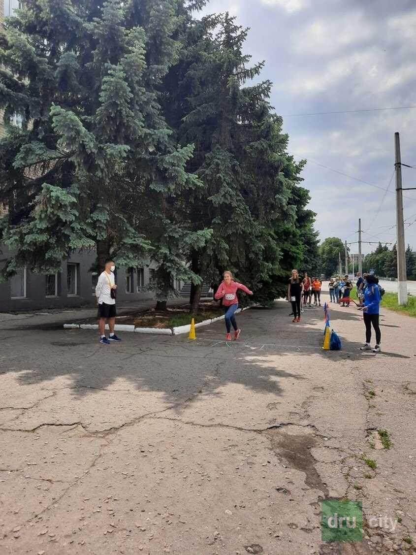 В Дружковке прошли областные соревнования по бегу