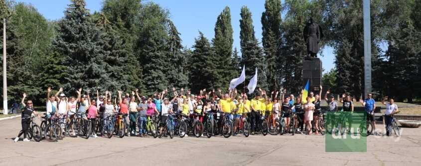 Велопробег в честь 75 годовщины победы над фашизмом