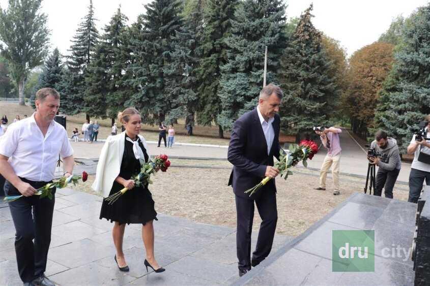В Дружковке отметили 77-ую годовщину освобождения