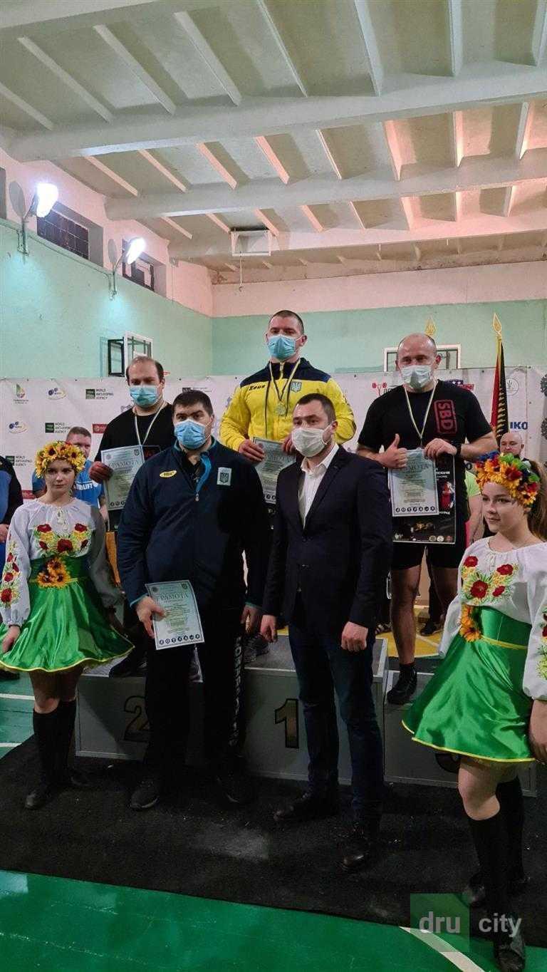 Дружковские атлеты успешно выступили на чемпионате области