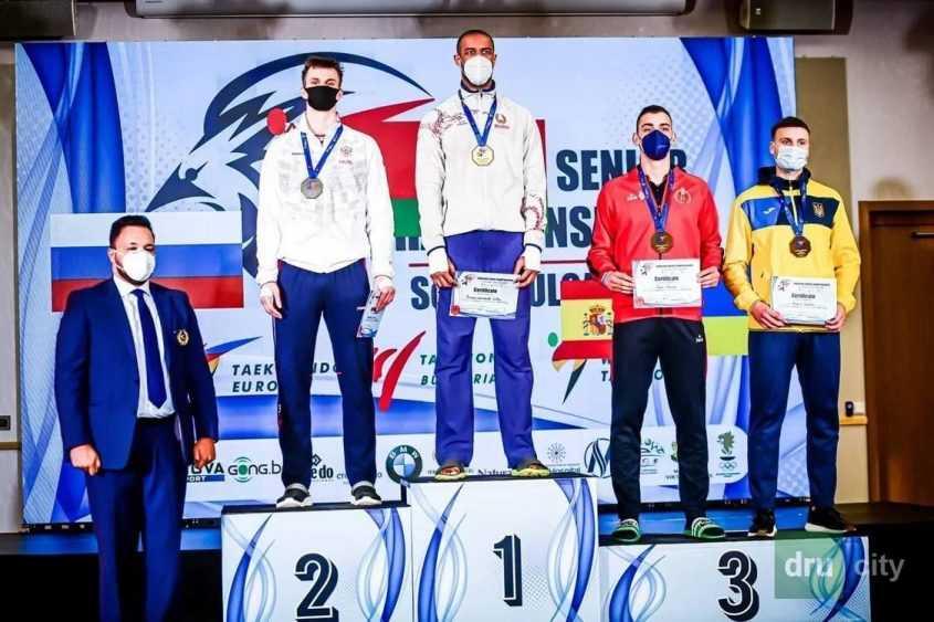 Дружковский спортсмен занял 3 место в чемпионате Европы по тхэквондо