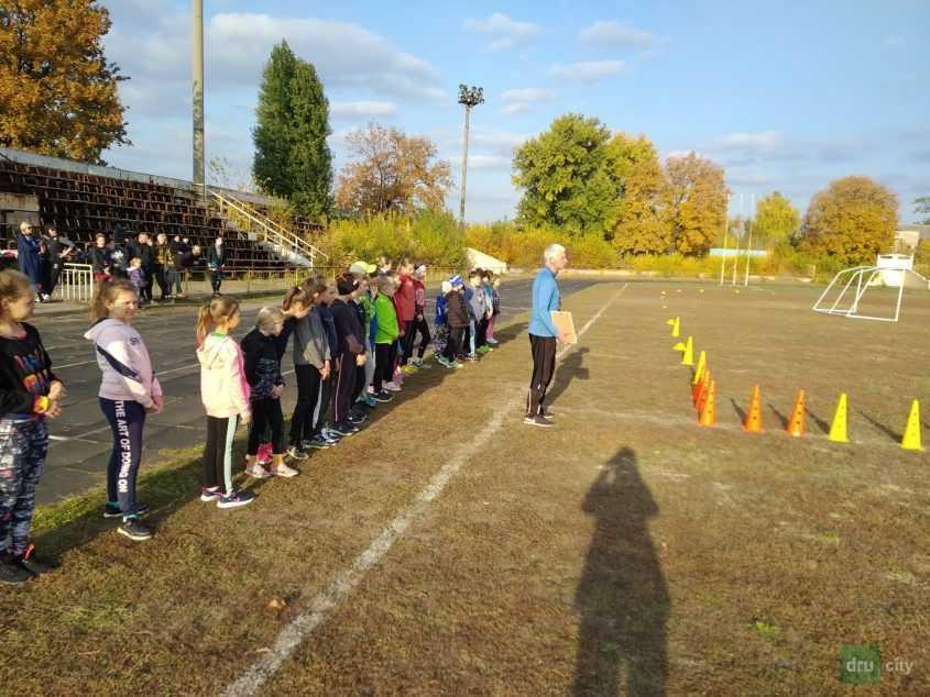 В Дружковке прошли соревнования по легкоатлетическому кроссу